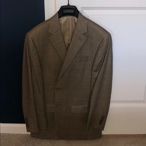 Brown Pattern Blazer - Ralph Lauren - Size 38R